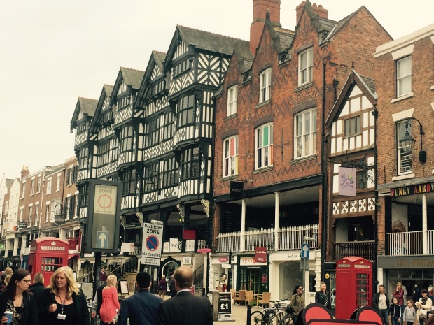 Gotta love Chester - looking good even on an overcast day. Pic: A Ferguson