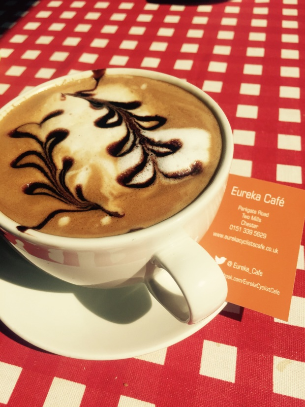 Arty cappuccino at Eureka Cafe. Photo: Angela Ferguson