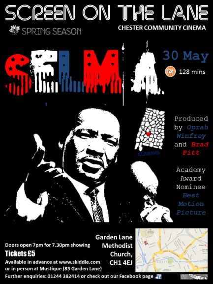 Screen on the Lane Selma poster