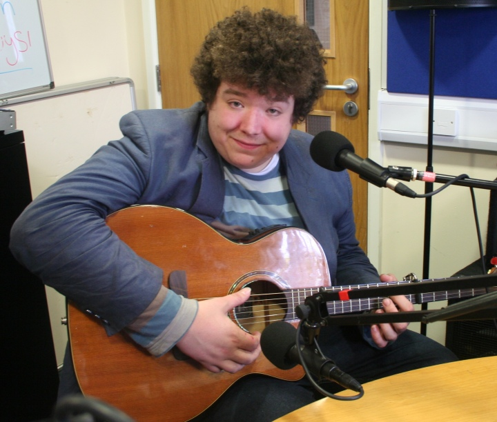 Chester musician Jonathan Coley performing live on Flipside  Photo: Flip