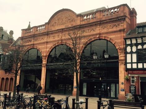 The historic Chester Library building   Photo: Angela Ferguson