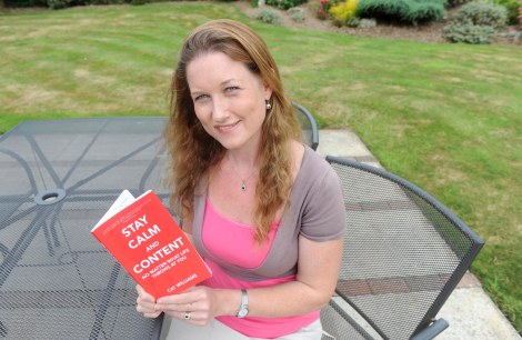 Stay Calm and Content author Cat Williams