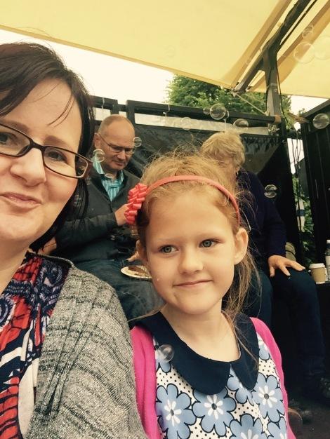 We Are Chester's bubbly Grosvenor Park Open Air Theatre selfie   Photo: Angela Ferguson