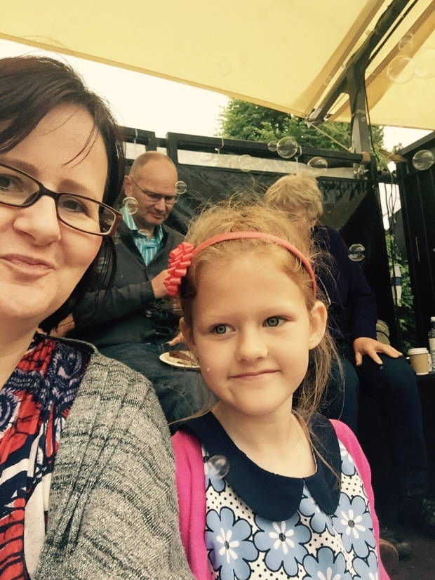 We Are Chester's bubbly Grosvenor Park Open Air Theatre selfie   Photo: Angela Ferguson