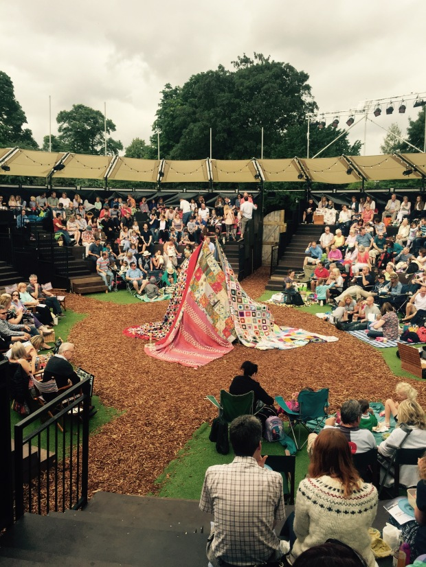 The opening stage set for The magical Wind in the Willows Photo: Angela Ferguson
