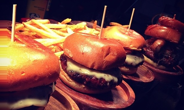 Hotly contested title: Who will produce Chester's best burger? Photo: Courtesy of Kash Tap Rooms