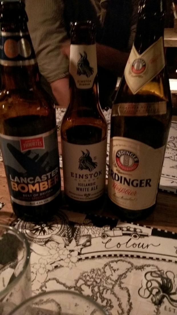 Lancaster, Einstök & Erdinger