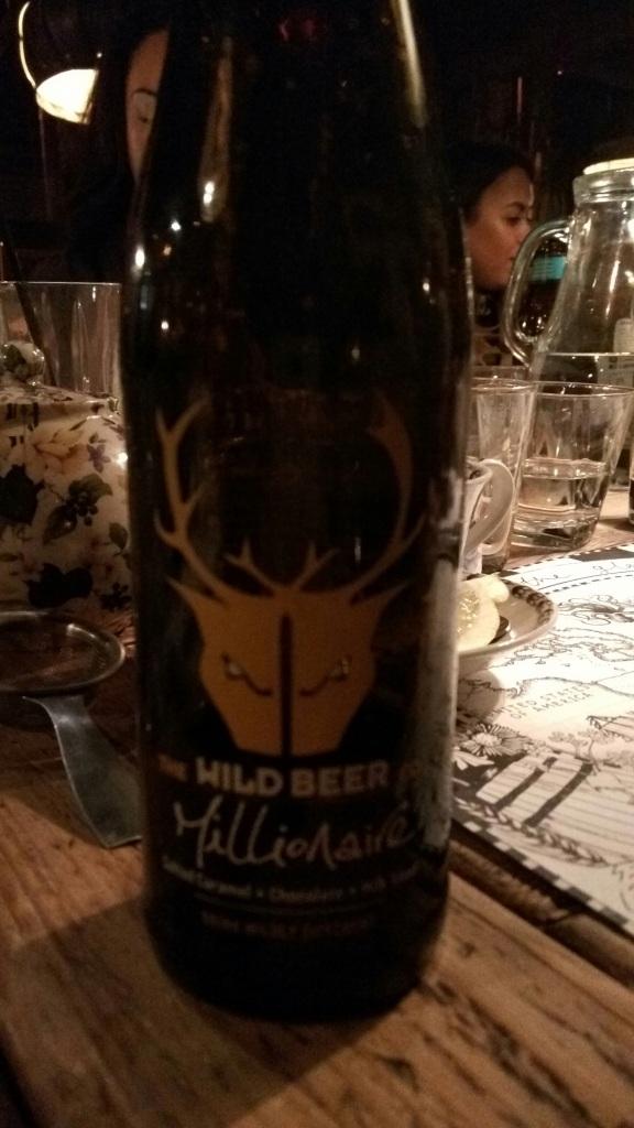 Millionaire bottle