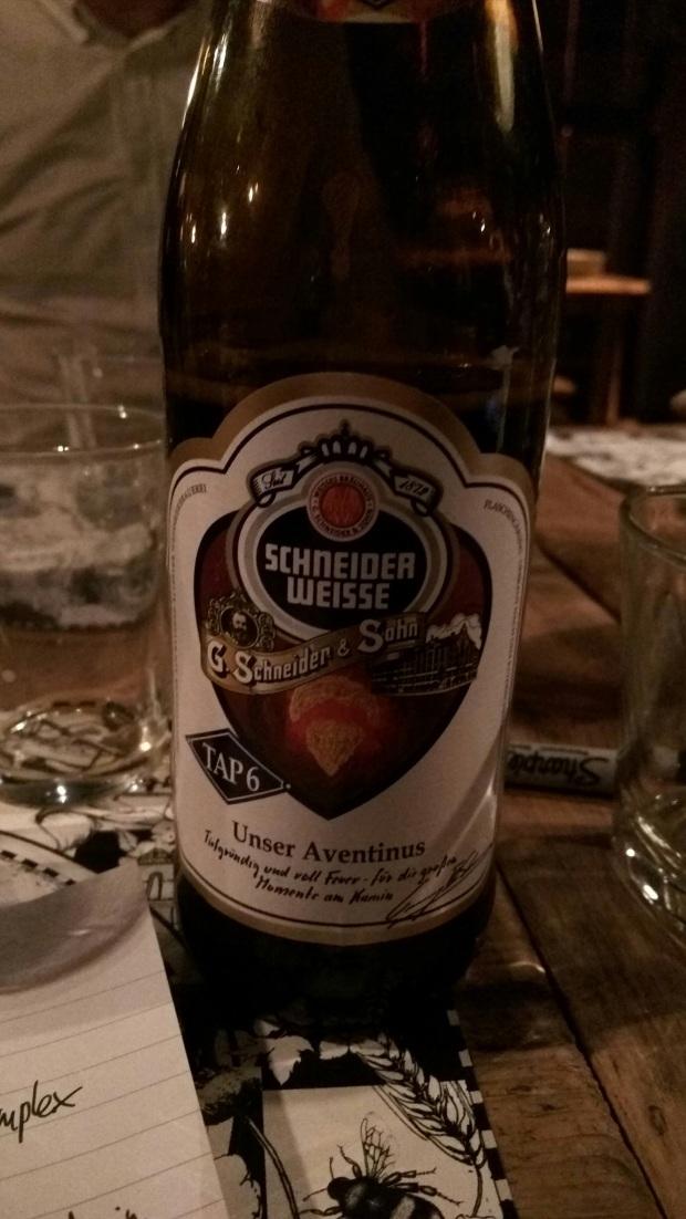 Schneider-Weisse bottle
