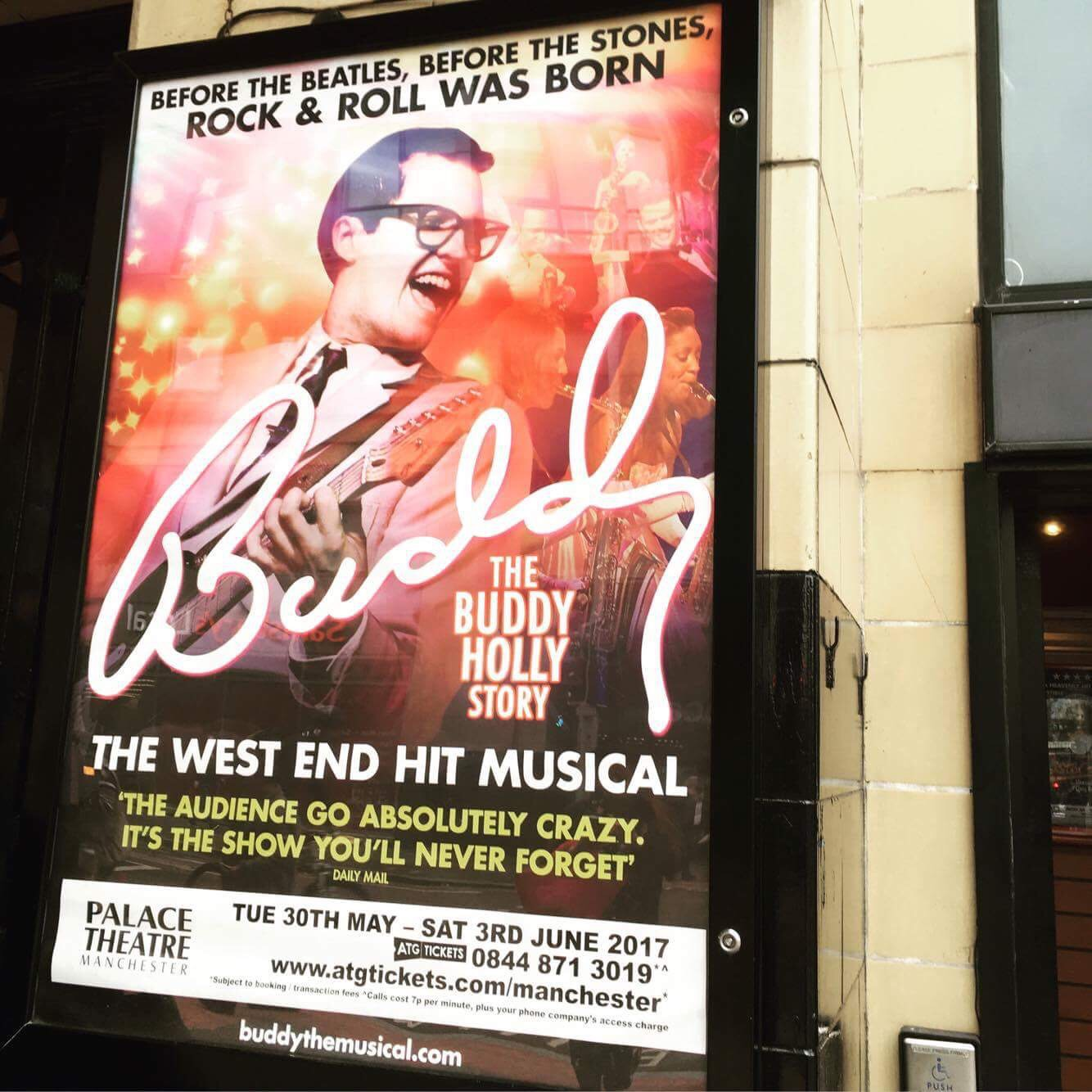Review: Buddy – The Buddy Holly Story at the Palace Theatre