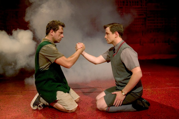 Blood Brothers - Sean Jones (Mickey) & Simon Willmont (Eddie) small.jpg