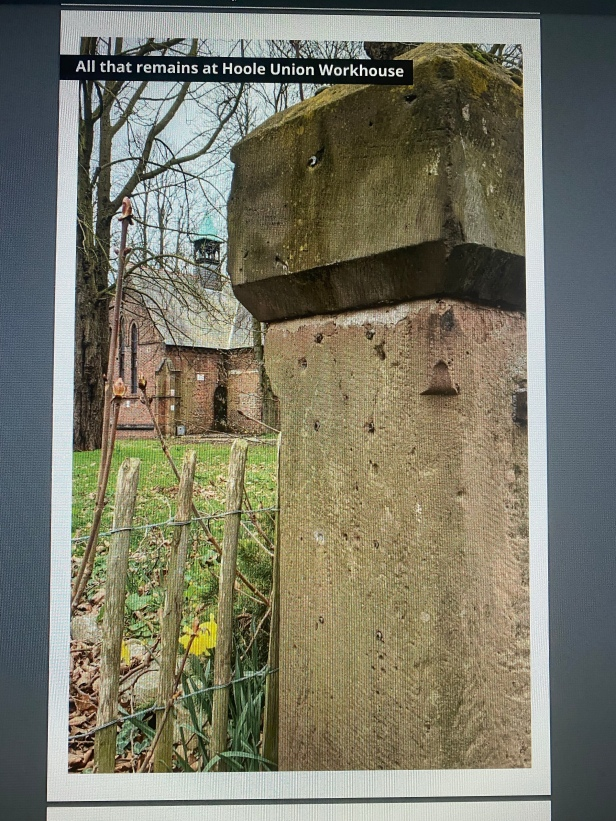 An excerpt from a free e-pamphlet on Chester Workhouse, which is currently available from the Inside History website